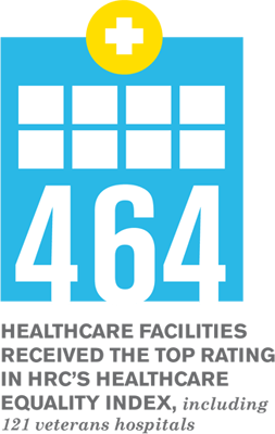 464 Healthcare Facilities received the top rating