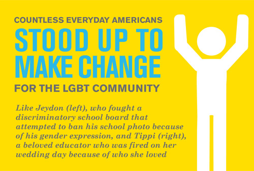 Countless Everyday Americans Stood Up to Make Change