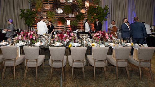 Chefs for Equality; Private chef table; Dock5 at Union Market