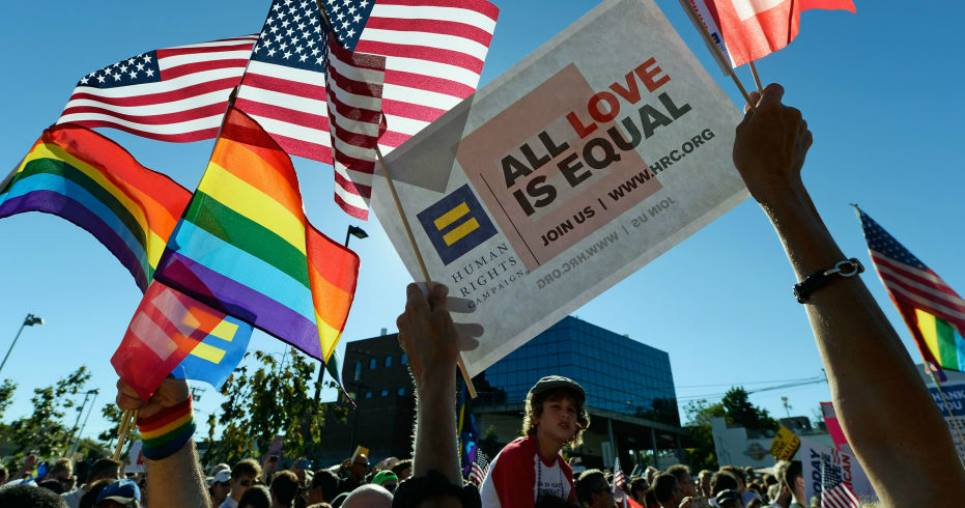 What states have gay marriages