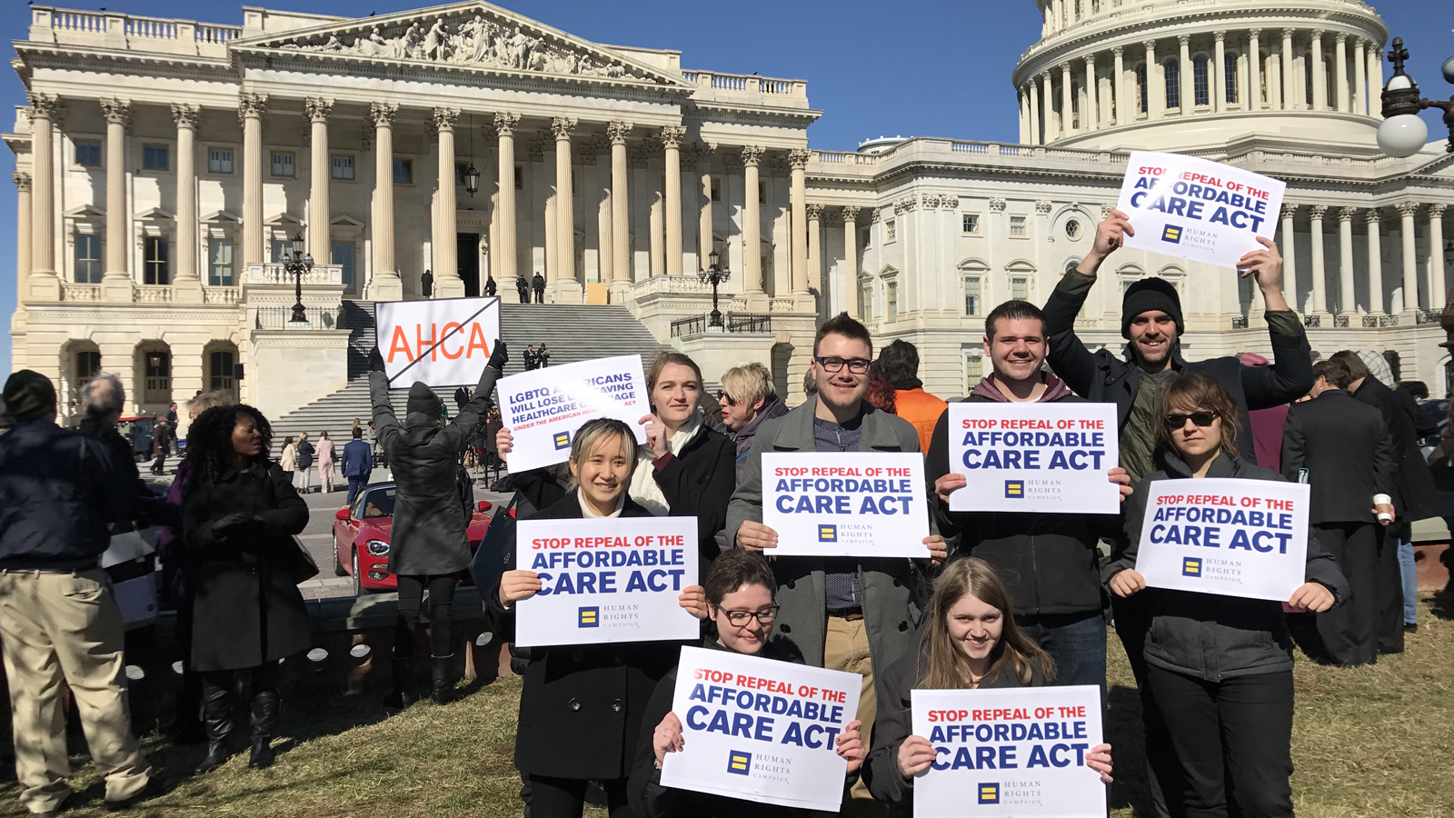 American Health Care Act Pulled From Vote; Thousands of LGBTQ People Will Retain Health Care
