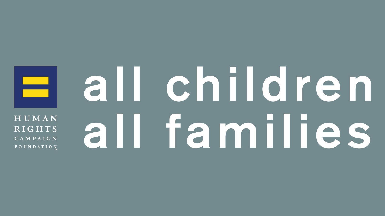 Ohio Agency Awarded All Children - All Families Seal of Recognition