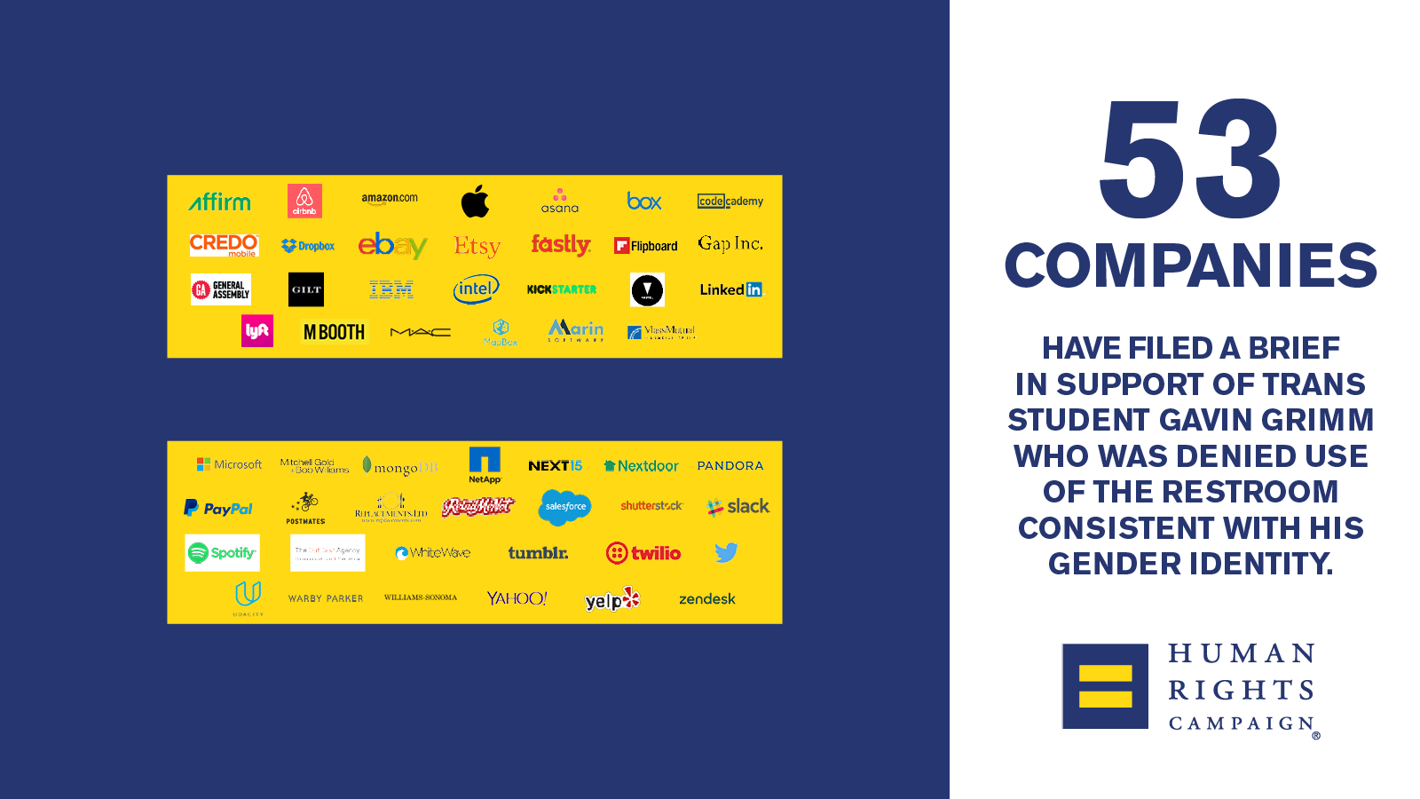 Major Companies Join Amicus Brief Supporting Trans Student in SCOTUS Case