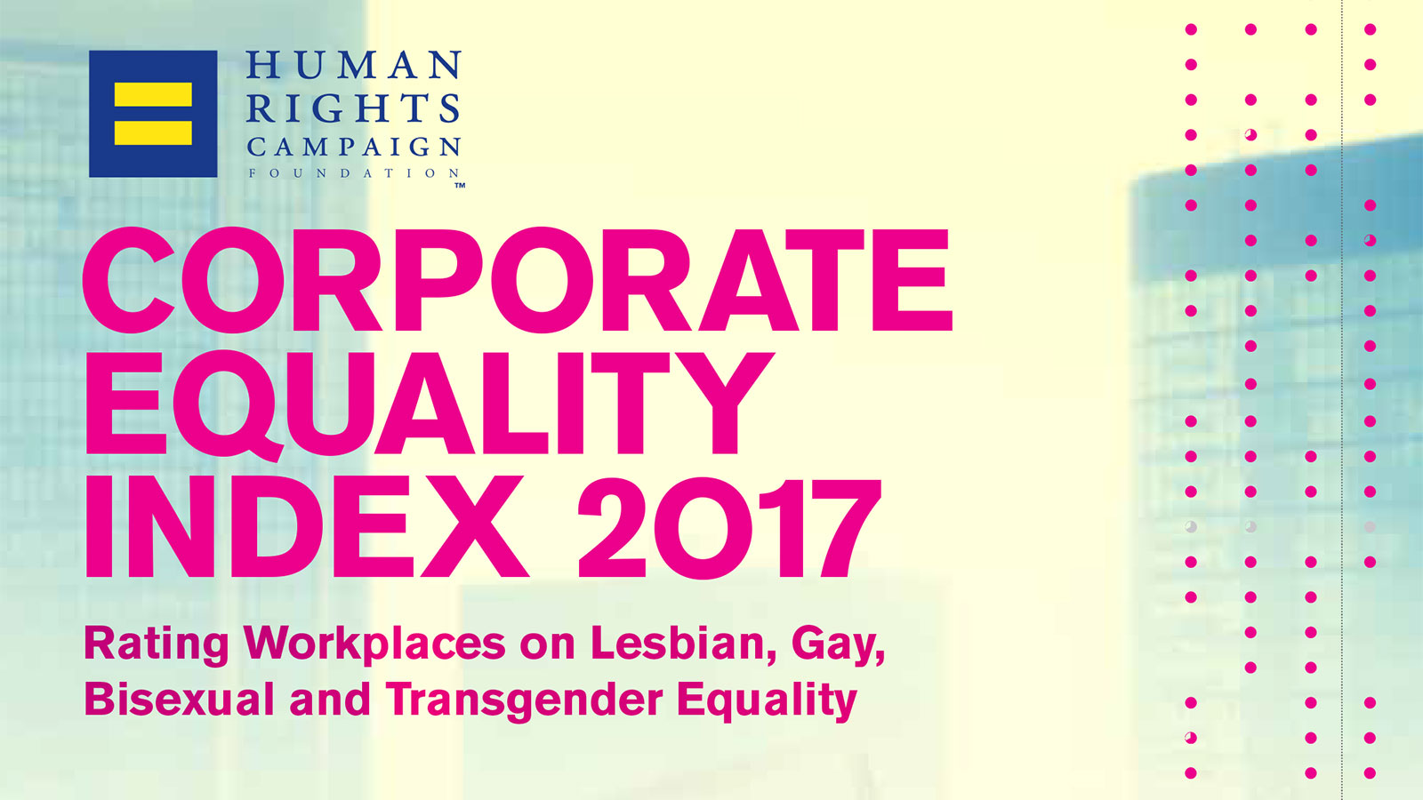 A Bright Spot in Hard Times: LGBTQ Workplace Equality