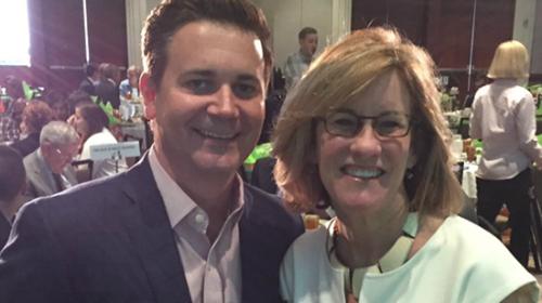 CHRC Jeremy Carter with Councilwoman At Large Julie Eiselt