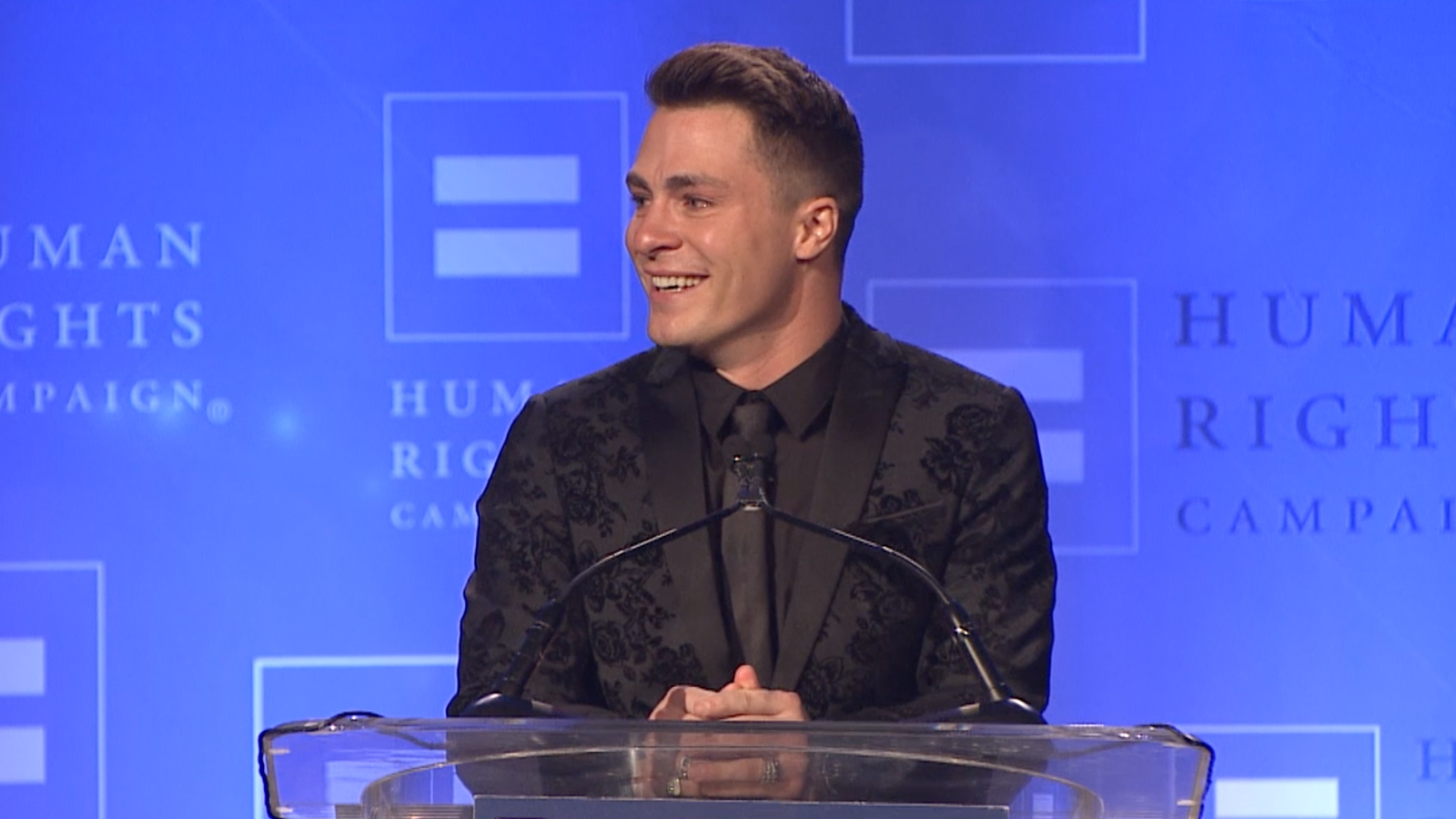 Colton Haynes Honored with HRC's Visibility Award