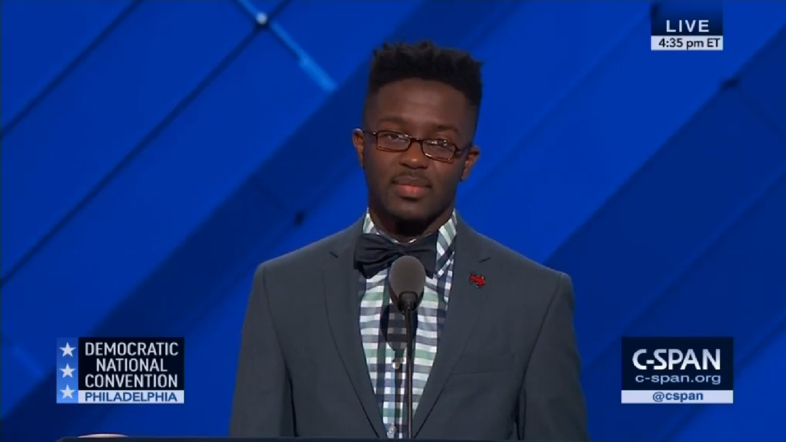 Black Gay Man Takes Center Stage at DNC to Talk About HIV