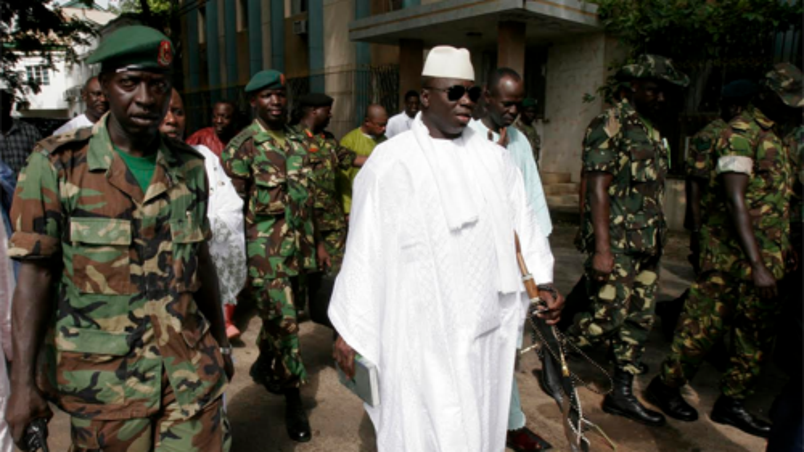 Obama Administration Bans Gambian Officials from Entering the US