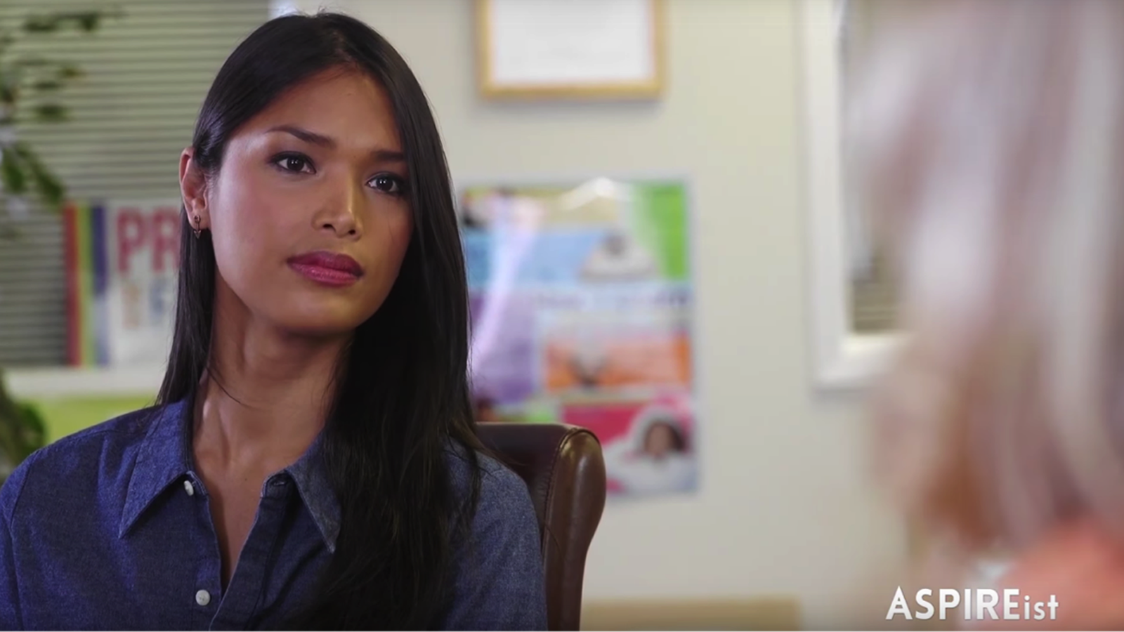 Transgender Model Geena Rocero Highlights HRC's Welcoming Schools Project on National News Show