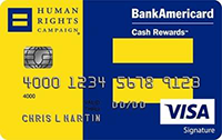 HRC Bank of America Credit Card