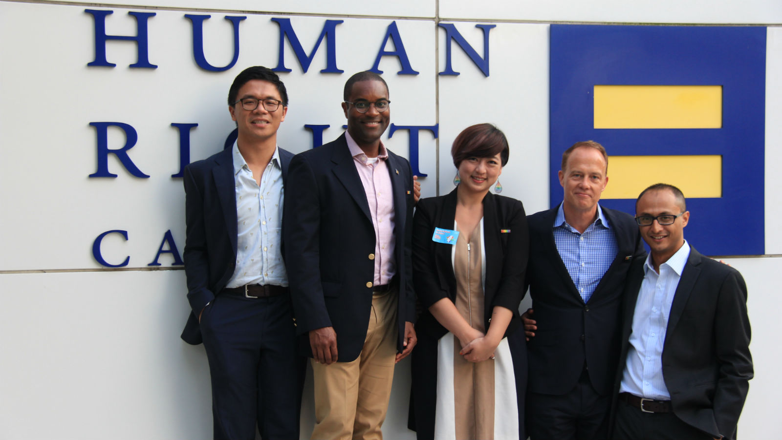 HRC Global Innovator Helps Bring Marriage Equality to Taiwan