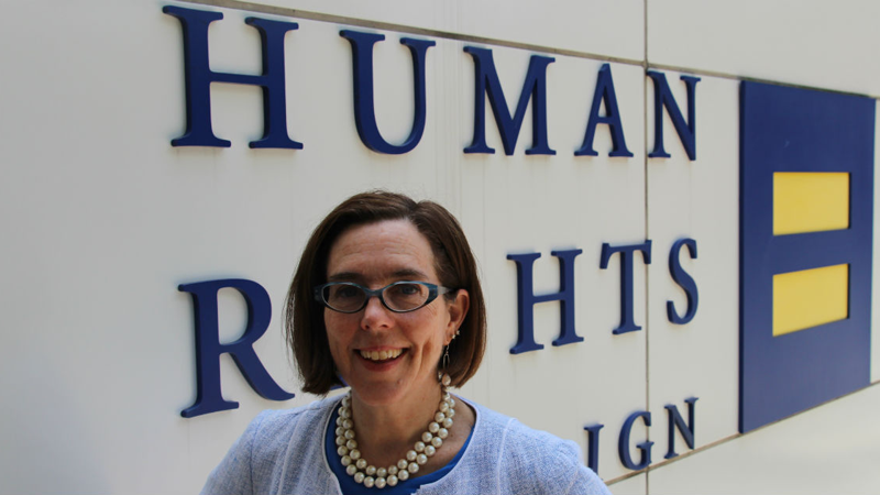 Oregon Governor Kate Brown Inspires Graduates with Speech on Being Bisexual and Out