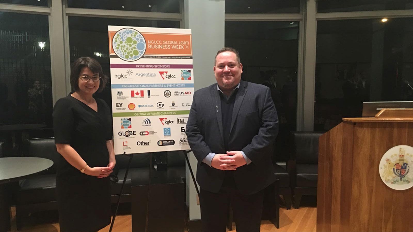 HRC Participates in NGLCC's Inaugural Global LGBTI Business Week