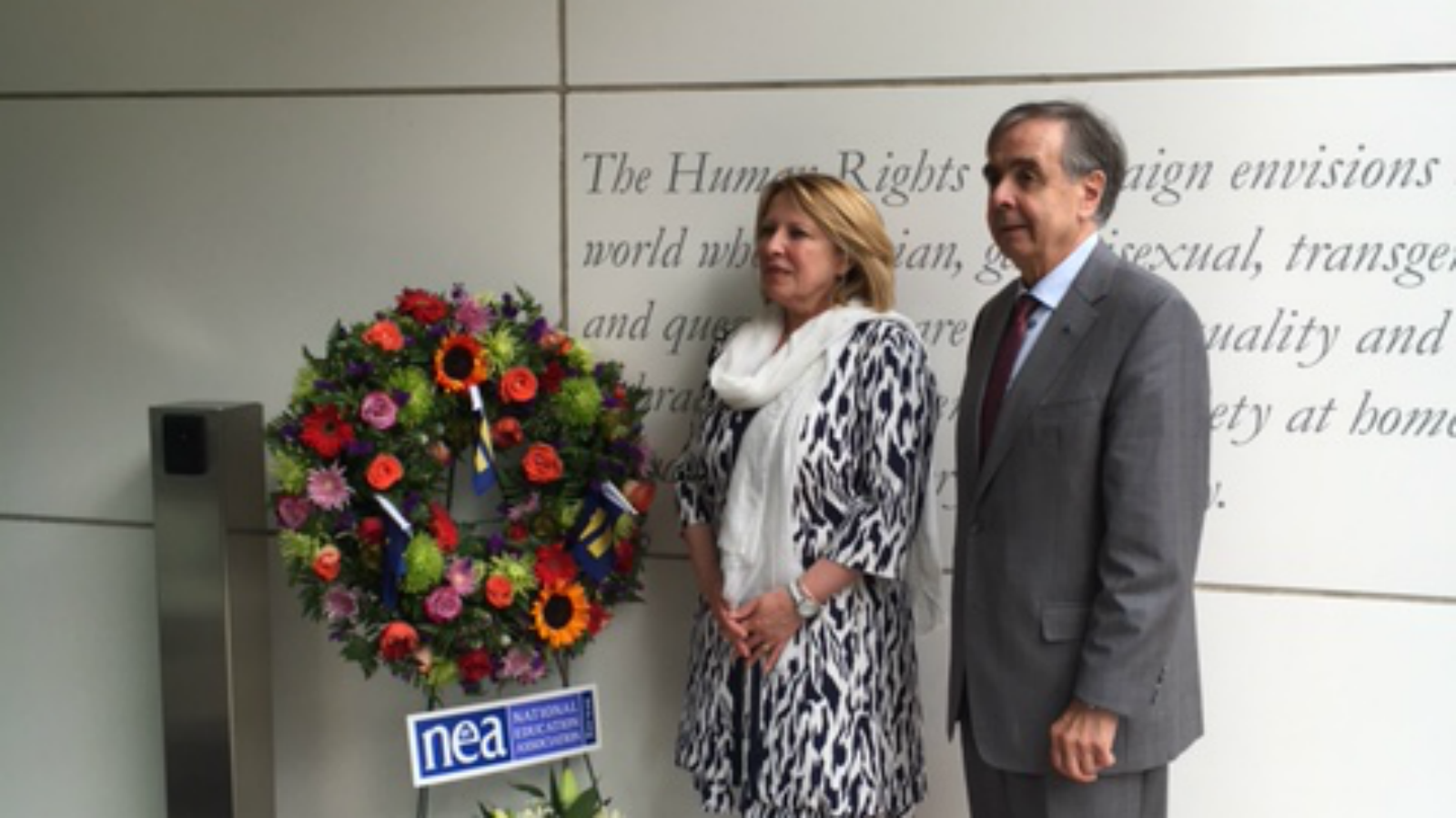 Québec Minister and Delegation Visit HRC's Office, Pay Respects to Orlando Victims