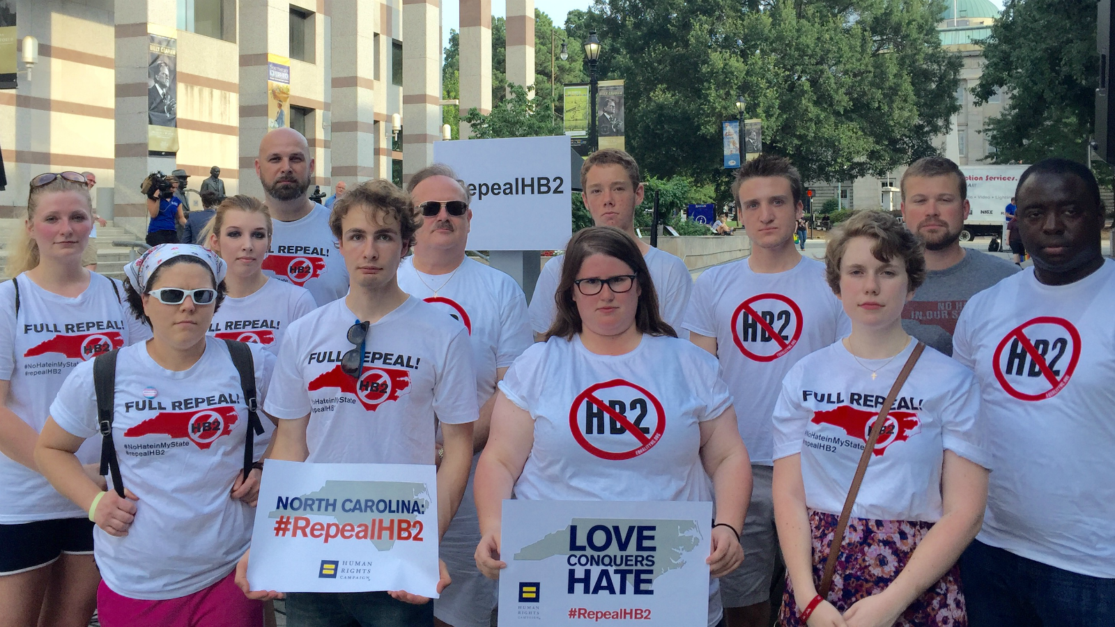 North Carolinians Rally Against Hate, Demand Repeal of HB2
