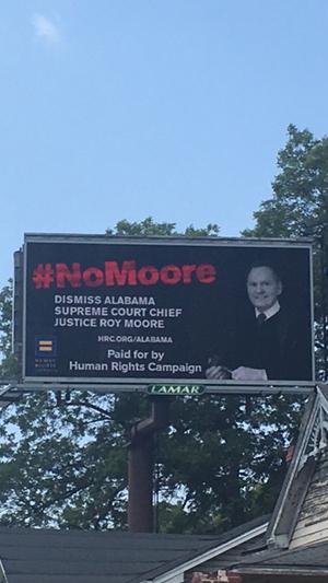 Roy Moore; No Moore