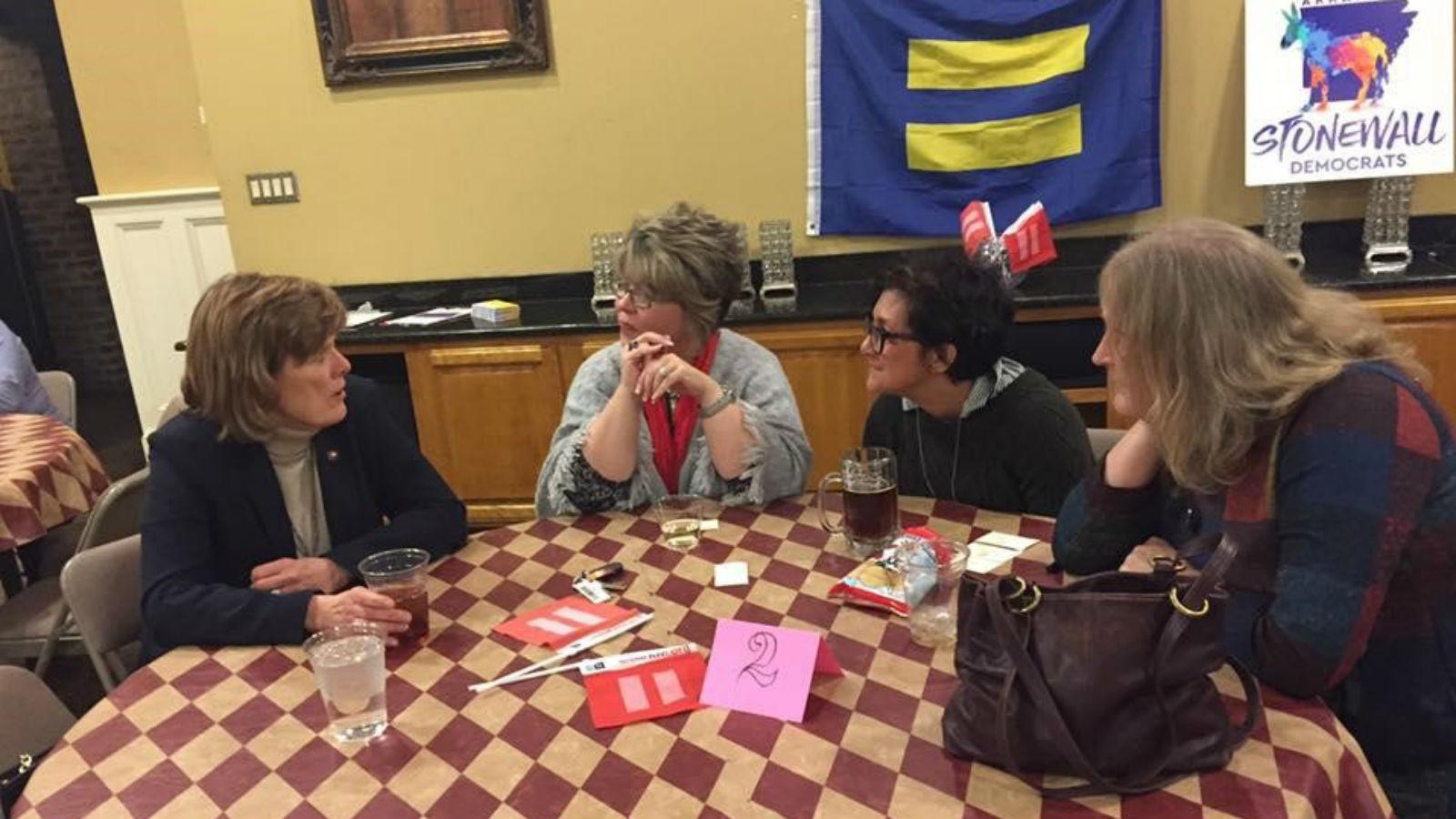 HRC Arkansas Finds its Match with Legislator Speed Dating