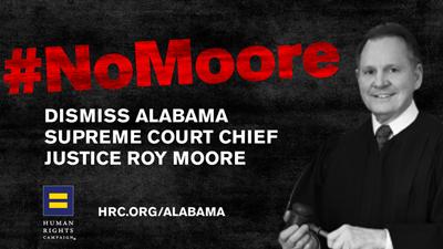 Alabama; Marriage equality; Roy Moore