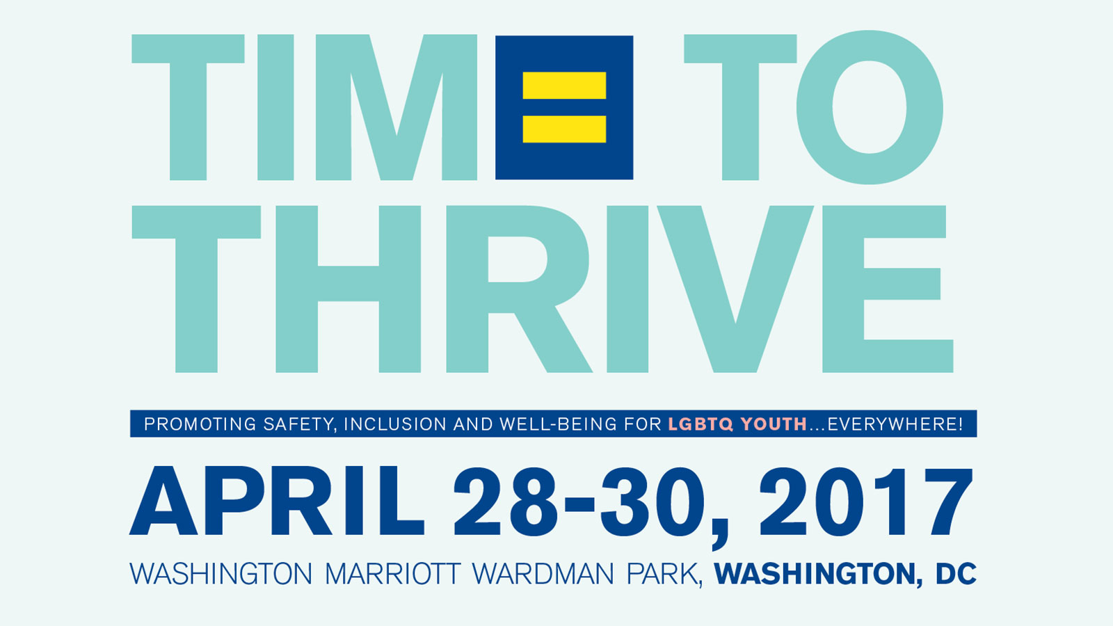 HRC's Groundbreaking Conference Supporting LGBTQ Youth to Be Held April 28-30 in Washington, D.C.