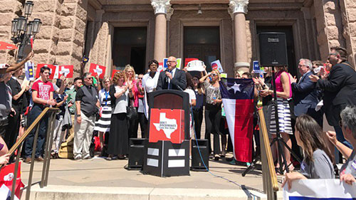 Texas Advocacy Day, Marty Rouse
