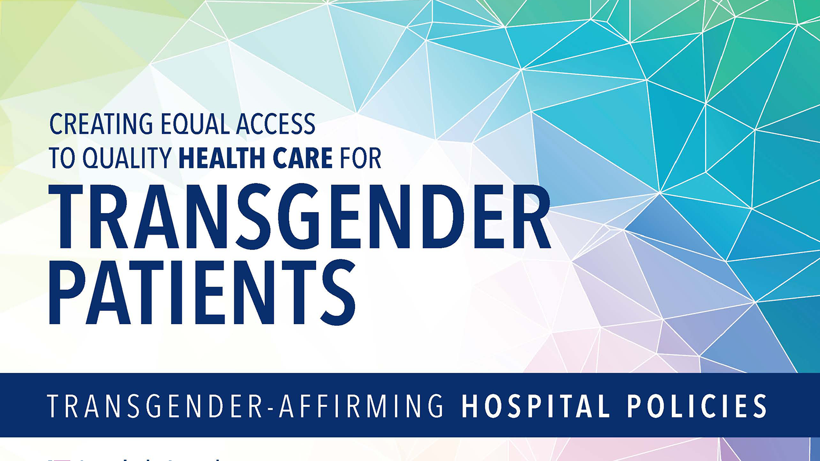 New Guide on Transgender-Affirming Hospital Policies