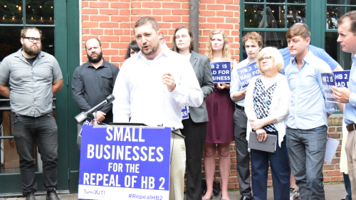 TurnOut! North Carolina; Repeal HB2; Small Businesses