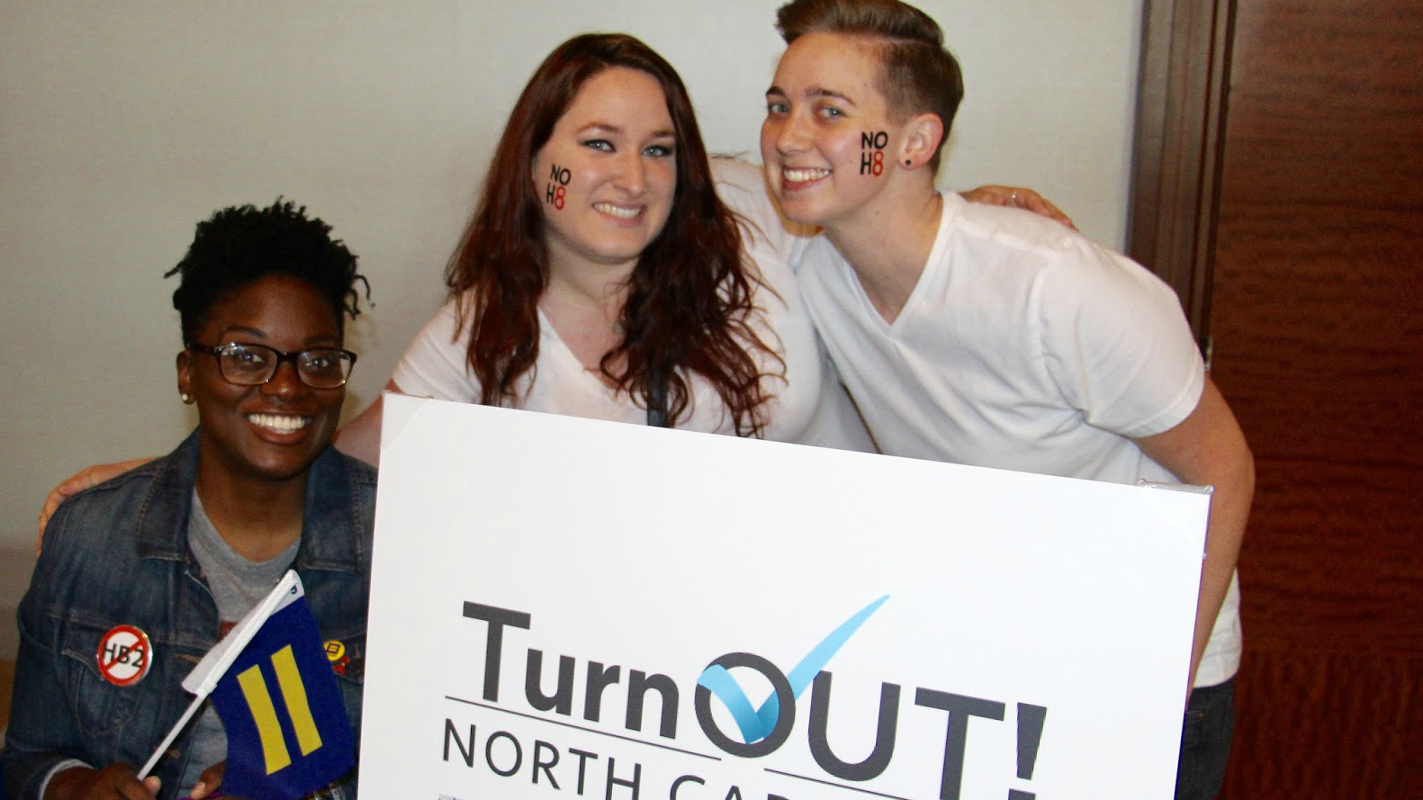 TurnOut! North Carolina; HB2; NoH8 Campaign