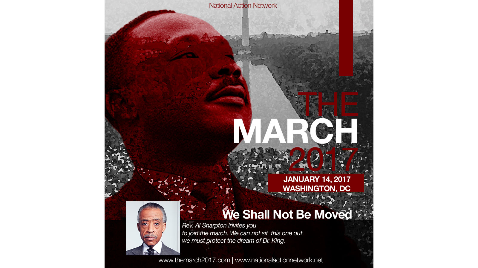 HRC's MacArthur Flournoy to Address 'We Shall Not Be Moved March'