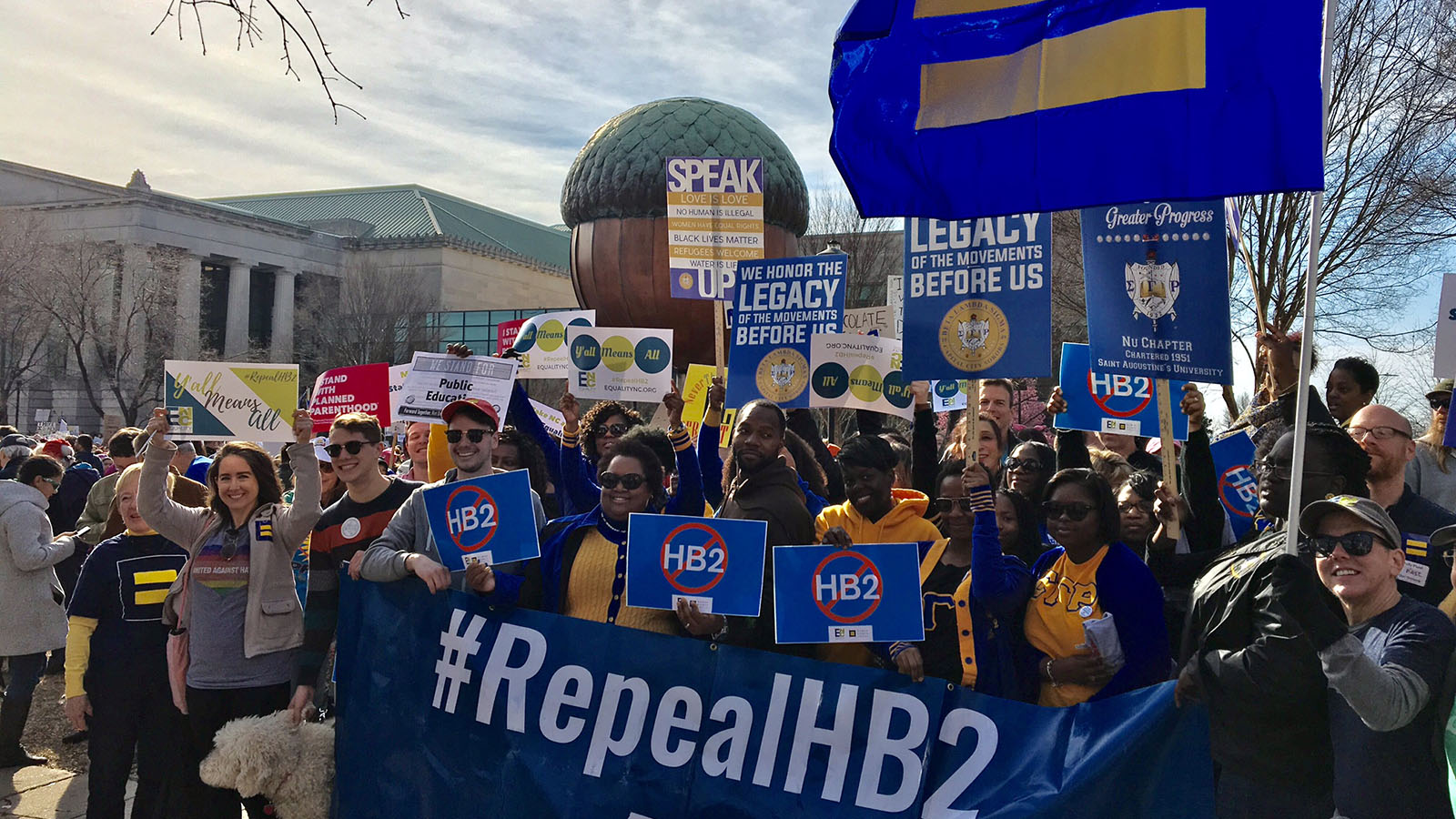 HRC Joins Thousands for the 11th Annual HKonJ Moral March in Raleigh
