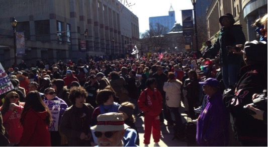 HKonJ moral march in Raleigh