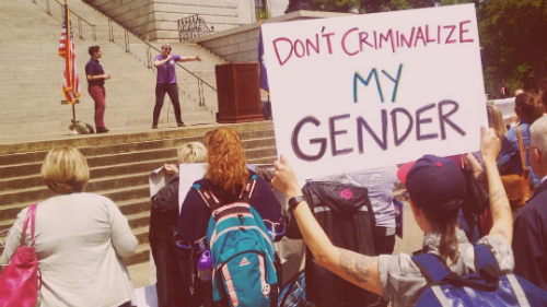 Don't Criminalize My Gender