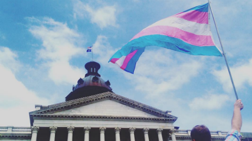 South Carolina; Transgender Flag