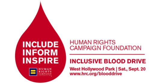 HRC LA blood drive