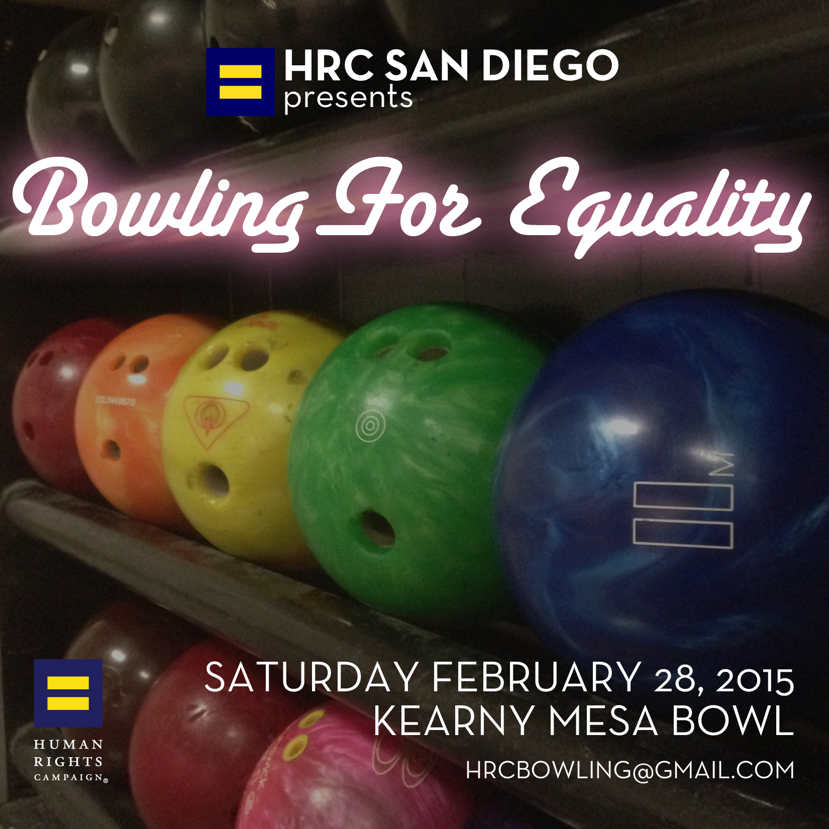 7th Annual Bowling For Equality - Saturday, February 28