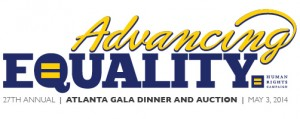 2014 HRC Atlanta Gala Dinner & Silent Auction