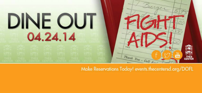 DINE OUT - FIGHT AIDS!    04-24-14