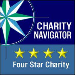Charity Navigator 4-star logo