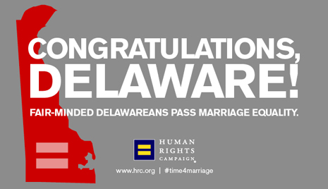 Delaware Marriage Equality