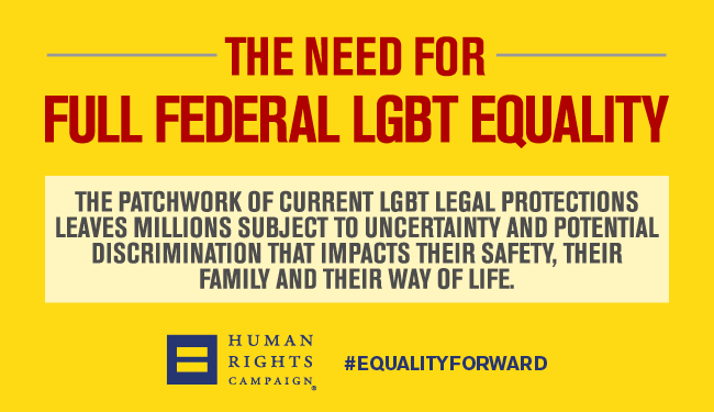 The Need for Full Federal Equality