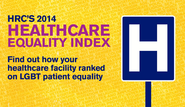 HEI 2014; Healthcare Equality Index