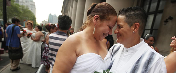 Marriage Equality Wedding