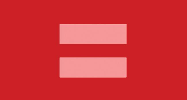 Red Logo; Equality logo; HRC