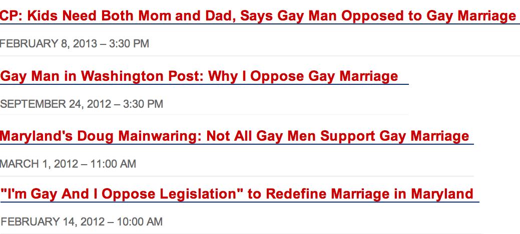 NOM blog feed in 2012