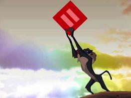 Rafiki; The Lion King; HRC logo remix