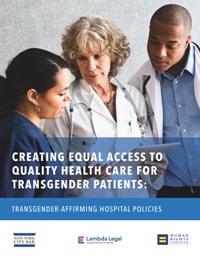 Transgender Affirming Hospital Policies