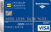 HRC Bank of America Card