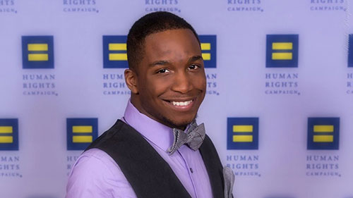 Justin Jones; HRC Youth Ambassador