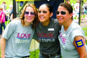 Love Conquers Hate; HRC partners; LGBT equality