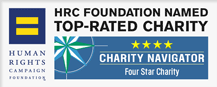 HRC Foundation Named Top-Rated Charity