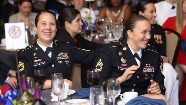Hundreds of LGBTQ Service Members Attend the American Military Partner Association Gala